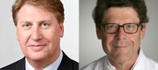 Prof. Dr. Ernst J. Rummeny und o. Univ.-Prof. Dr. Werner Jaschke, Kongresspräsidenten des 98. Deutschen Röntgenkongresses und des 8. Gemeinsamen Kongresses der Deutschen Röntgengesellschaft (DRG) und der Österreichischen Röntgengesellschaft (ÖRG)