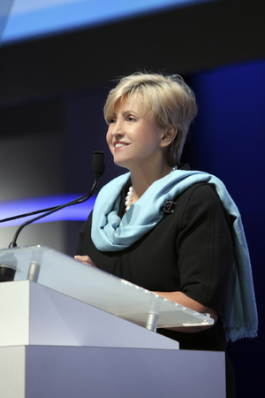 Dr. Hedvig Hricak, Chair of the Department of Radiology at Memorial Sloan Kettering Cancer Center, New York City, USA