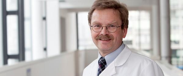Prof. Dr. Peter Huppert, Klinikum Darmstadt, Kongresspräsident des 99. Deutschen Röntgenkongresses