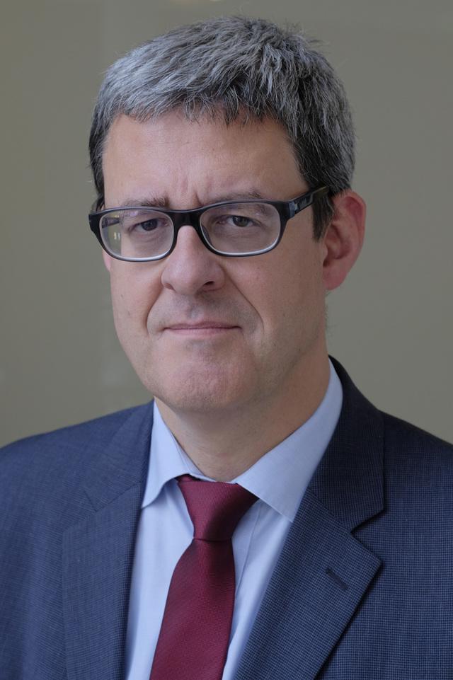 Prof. Dr. Werner Weber, Direktor des Instituts für Diagnostische und Interventionelle Radiologie, Neuroradiologie und Nuklearmedizin am Universitätsklinikum Bochum