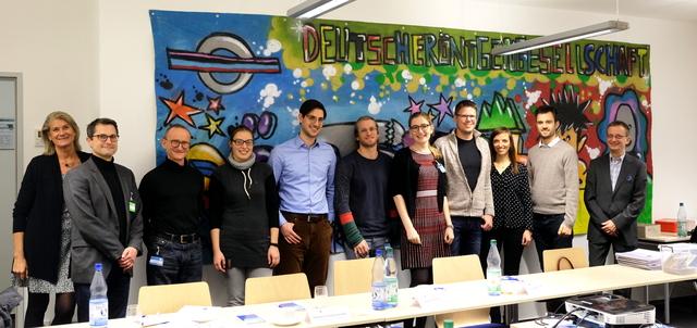 Die Teilnehmerinnen und Teilnehmer des ersten Kommunikations-Workshops für Radiologen in Berlin.