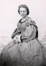 Die junge Anna Bertha Ludwig um 1870.