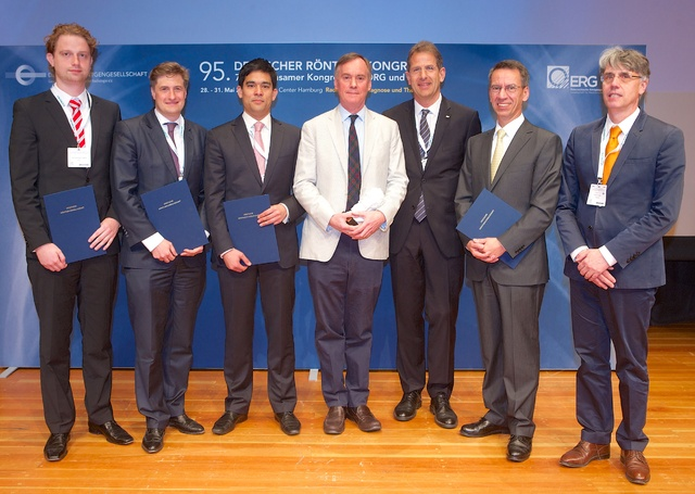 Verleihung des Alfred-Breit-Preises, des Röntgen-Rings, des Röntgen-Preises und des Young Investigator Awards