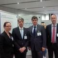 vlnr: Dr. Eckert, Prof. Dr. Hosten, Prof. Dr. Baumann, Prof. Dr. Budach