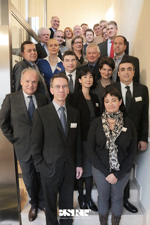 Programm-Team des ECR 2015 mit Prof. Hamm (v.l.)