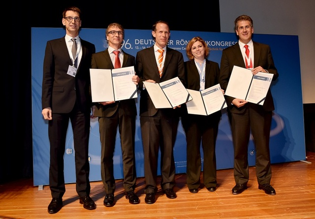 von links nach rechts: M. Uder, R. Janka, T. Lauenstein, S. Kinner, M. Mack