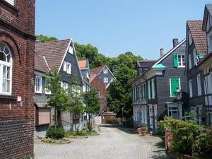 Kleinstadtidyll und Röntgenheimat: Remscheid-Lennep