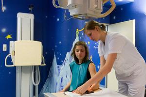 Den engsten Kontakt zu den kleinen Patienten haben die MTRA.
