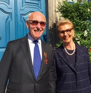 Prof. Dr. Ulrich Mödder mit seiner Frau